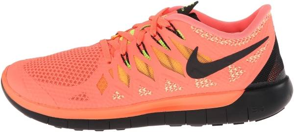 Nike Free 5.0 woman orange (schwarz)