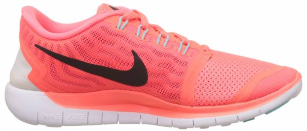 Nike Free 5.0 woman hot lava/black glow/bright crimson