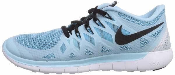 Nike Free 5.0 woman hellblau/schwarz