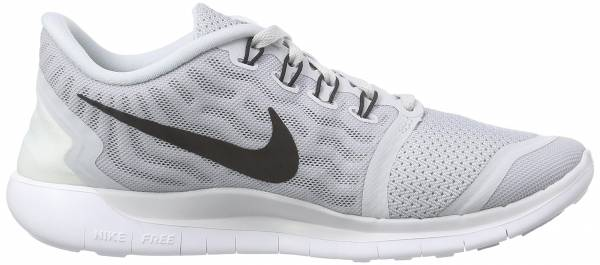 Nike Free 5.0 woman pure platinum/wolf grey/cool grey/black