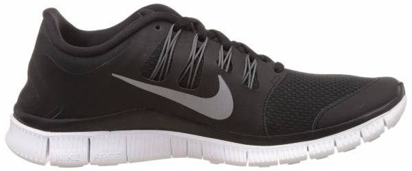 Nike Free 5.0 woman black/metallic silver/dark grey/white