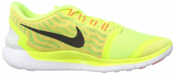 Nike Free 5.0 woman giallo