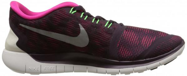 Nike Free 5.0 woman nbl prpl/smmt wht-pnk fl-vltg