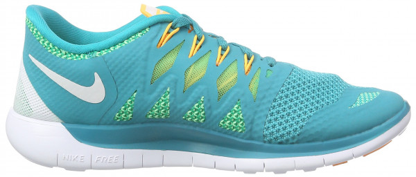 Nike Free 5.0 woman turbo green/white/light lucid green/kumquat