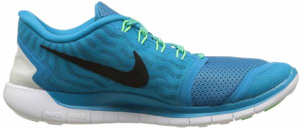 Nike Free 5.0 woman blue lagoon/voltage green/copa/black