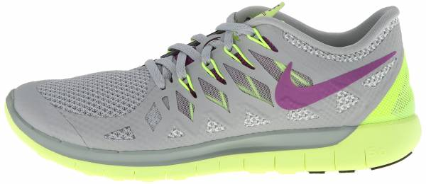 Nike Free 5.0 woman bs gry/brght grp/vlt/lt bs gry