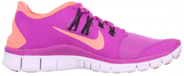 Nike Free 5.0 woman club pink/anthracite/violet/atomic pink
