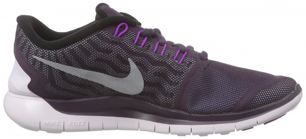 Nike Free 5.0 woman noble purple/vivid purple/copa/reflective silver