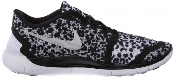 Nike Free 5.0 men black white