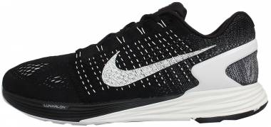 92428bc96035 Nike LunarGlide 7 Black Summit White Anthracite Men