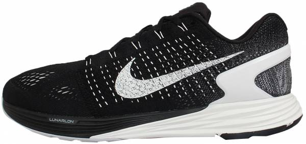 various colors eef90 4a025 Nike LunarGlide 7 Black Summit White Anthracite