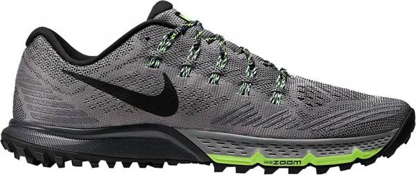 60a216f4038 Nike Air Zoom Terra Kiger 3 Cool Grey Anthracite Ghost Green Black