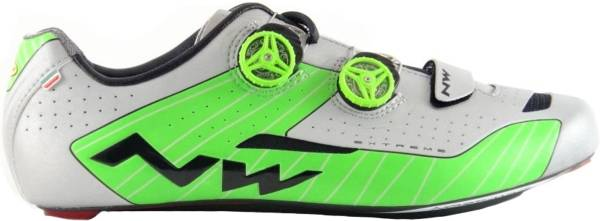 Northwave Extreme - Reflective Silver/Green
