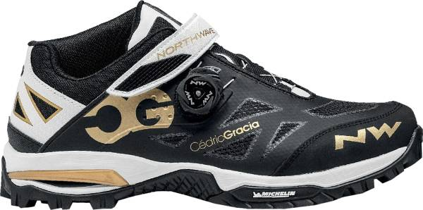 Northwave Enduro Mid - Black Off White Gold