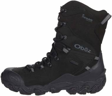 "Oboz Bridger 10"" Insulated BDry - Midnight Black (82501K)"