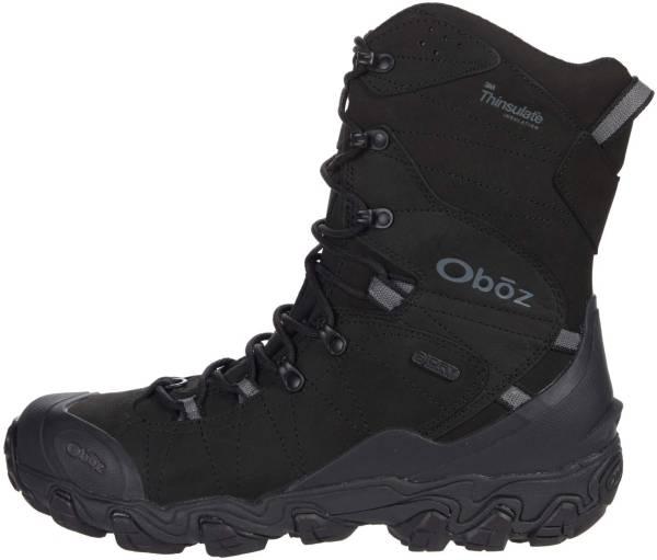 "Oboz Bridger 10"" Insulated BDry - Midnight Black (82501K)"