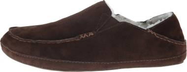 OluKai Moloa Slipper - Dark Java/Dark Java (10252484)