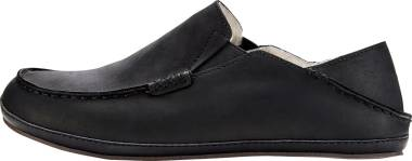 OluKai Moloa Slipper - Black/Black (10252001)