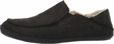OluKai Moloa Slipper - Black (10252OXOX)