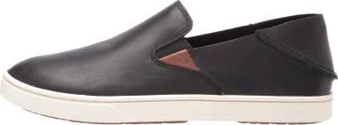 OluKai Pehuea Leather - Black (20329001)