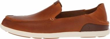 OluKai Nalukai Slip On - Brown (10379FX19)