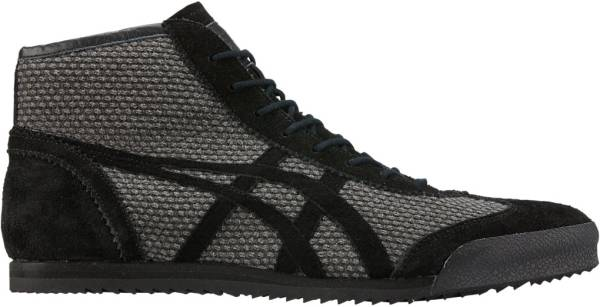Onitsuka Tiger Mexico Mid Runner DX  - DARK GREY/BLACK