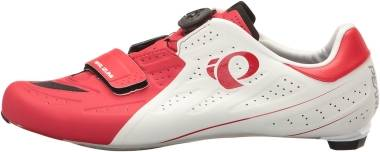 Pearl Izumi Elite Road v5 - White True Red (151170012KA)