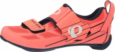 Pearl Izumi Tri Fly Select V6 - Navy / Fiery Coral