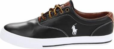 Polo Ralph Lauren Vaughn Black Soft Leather Men