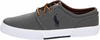 Polo Ralph Lauren Faxon Low - Grey Canvas (816155651029)