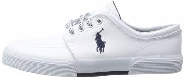 Polo Ralph Lauren Faxon Low Leather - White