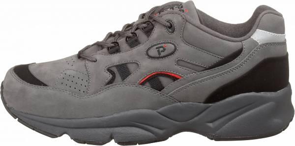 Propet Stability Walker - Grey/Black Nubuck (M2034GBN)