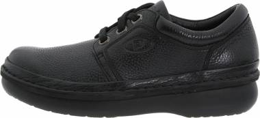 Propet Village Walker Black Grain Men