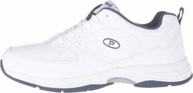 Propet Warner - White/Navy (M5501WN)