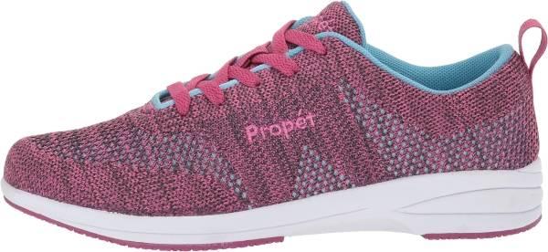 Propet Washable Walker Evolution - Grey/Pink (WCS012M)