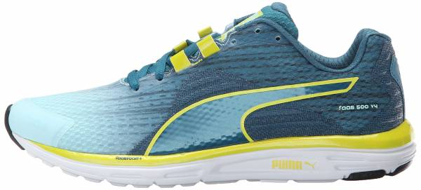 Puma Faas 500 v4 - Clearwater Blue Coral Sulphur Spring