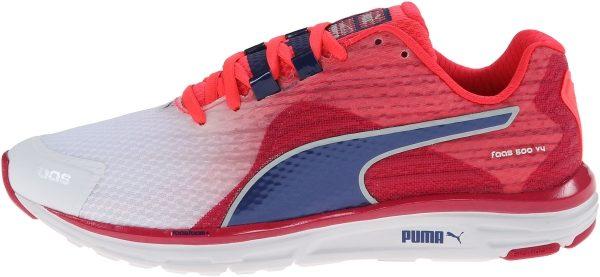 Puma Faas 500 v4 woman blanc (wht/pink/blue)