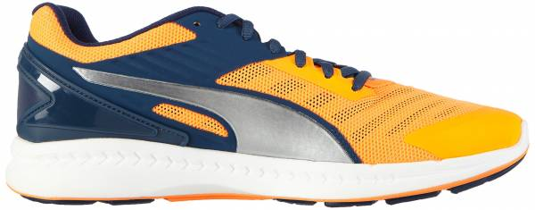 Puma Ignite v2 men orange (orange pop/blue wing teal/silver)