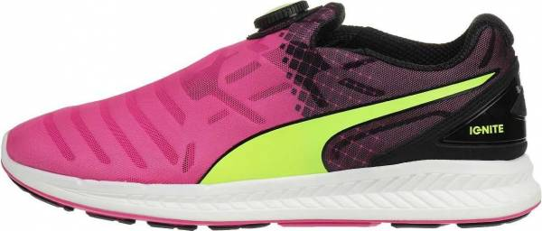 Puma Ignite Disc men safety yellow-pink glo-black