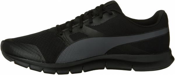 black and white puma shoes