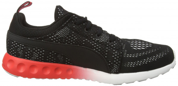 Puma Carson Runner men black - schwarz (black-high risk red-white 03)