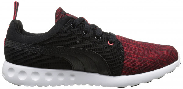 Puma Carson Runner men black/high risk red