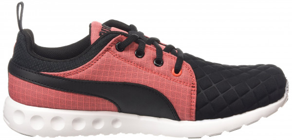 Puma Carson Runner woman black - schwarz (black-cayenne 01)