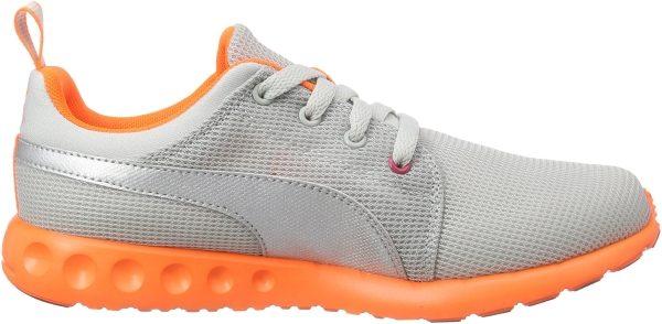 Puma Carson Runner woman grigio (grau (gray violet-puma silver-fluo peach 12))