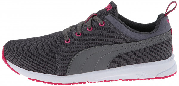 Puma Carson Runner men steel gray/fuchsia purple