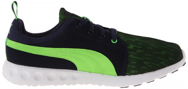 Puma Carson Runner men peacoat/fluo green