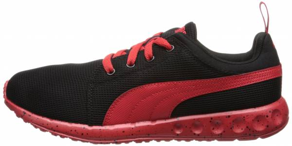 Puma Carson Runner Black/High Risk Red