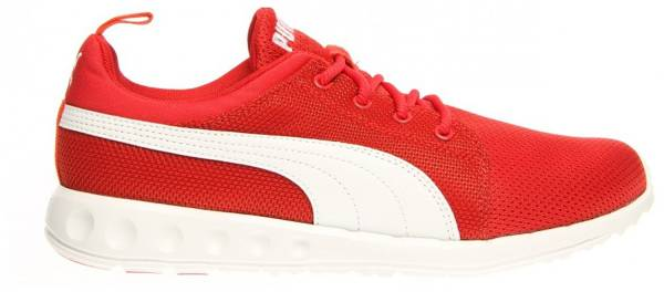 Puma Carson Runner men high risk red / white