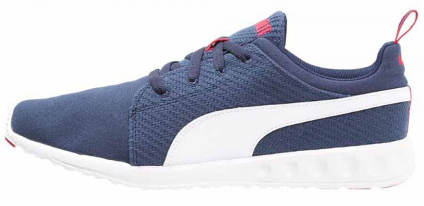 Puma Carson Runner men blue - blau (peacoat-white-high risk red 06)