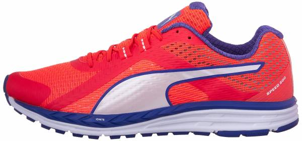 Puma Speed 500 Ignite woman rouge (red blast/royal blue/white)